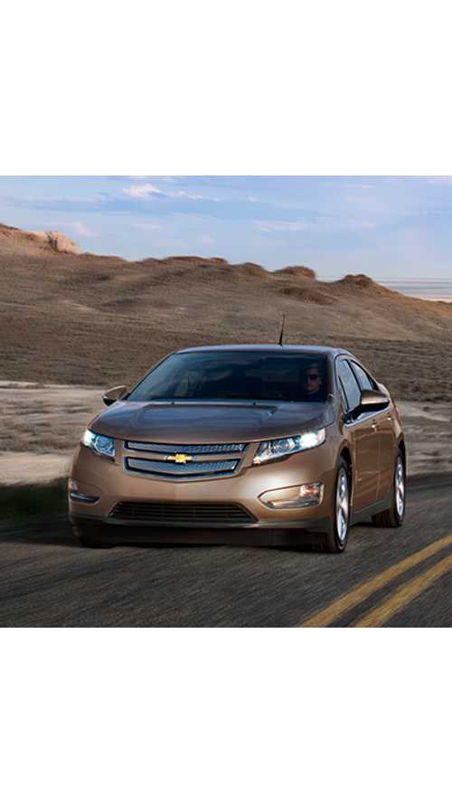Chevy Volt Tops Google's Year-End Trending List in Categories of