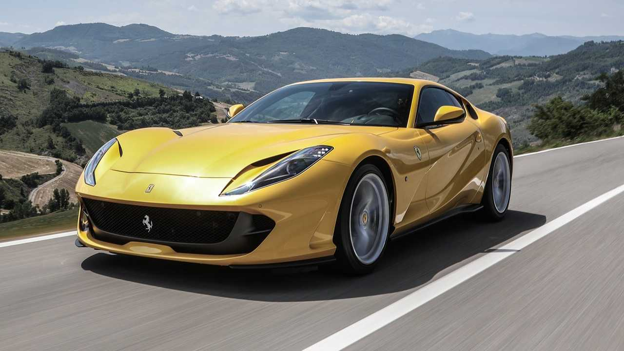 3 - Ferrari 812 Superfast