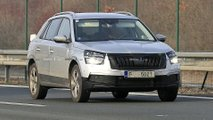 Euro-spec Skoda Kamiq spy photo