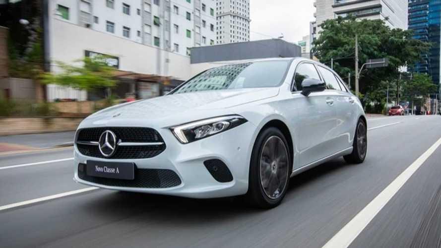 Mercedes Classe A supera Corsa e Fiesta no Reino Unido e é 1º premium a liderar