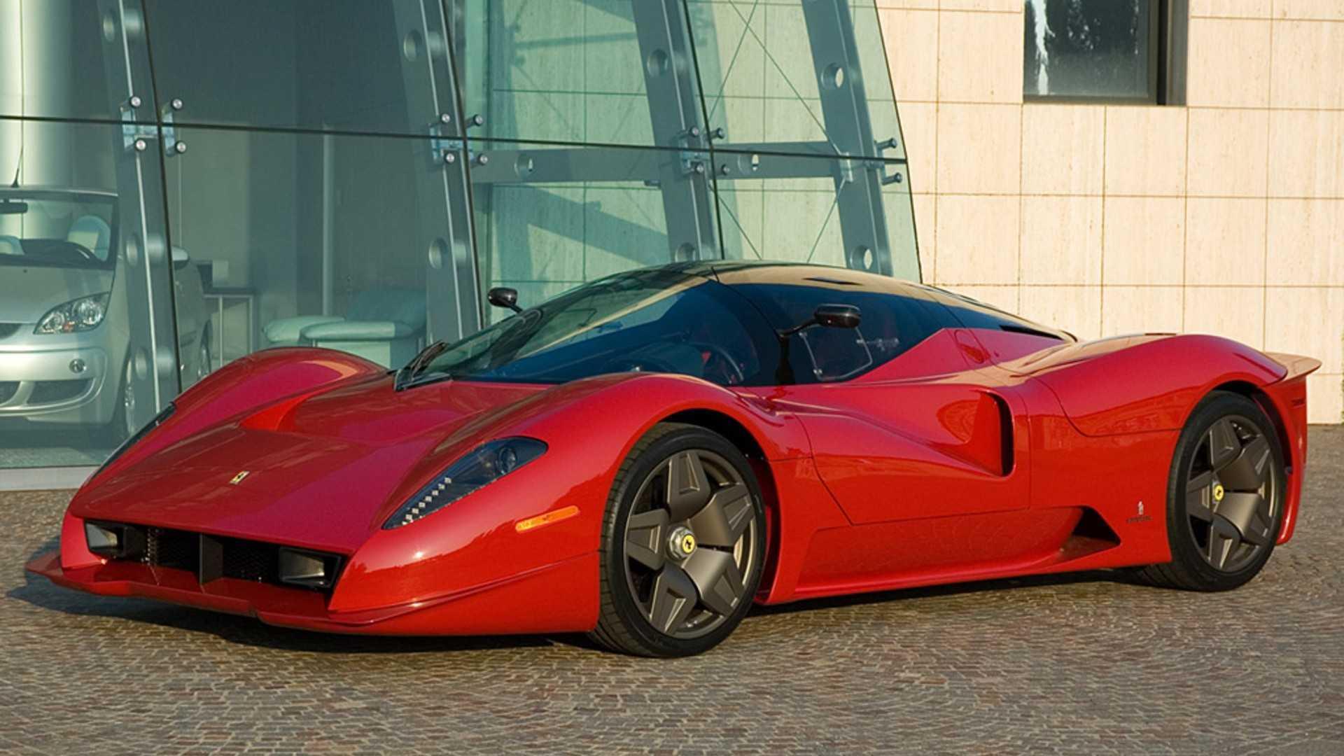 """[""""Ferrari P4/5 by Pininfarina""""]"""