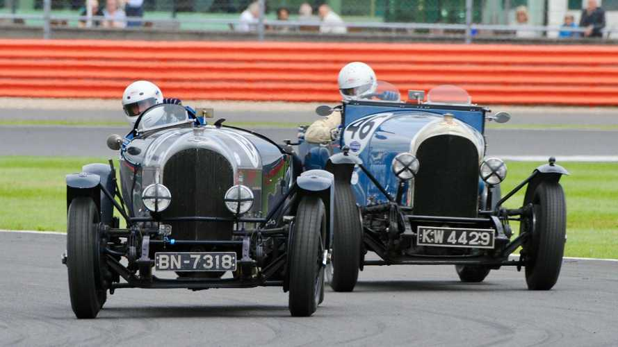 Bentley centenary race at Silverstone Classic