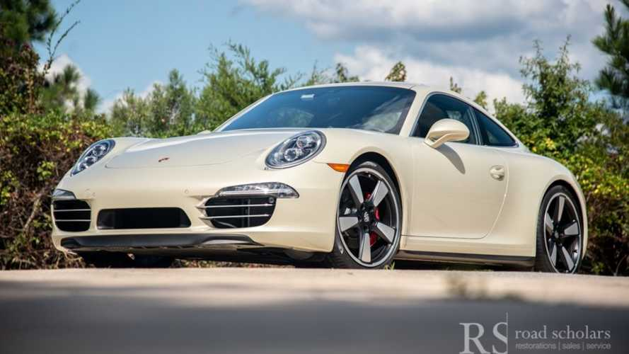 Party Like It's 2013 With A Porsche 911 50th Anniversary Edition