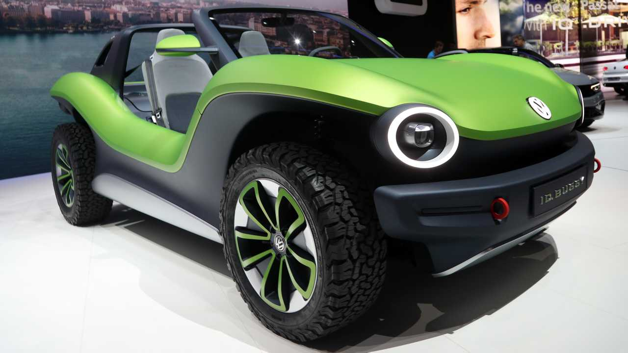 VW I.D. Buggy Concept: Geneva Live