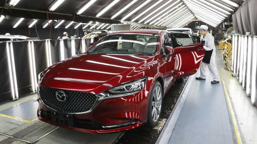 Fábrica da Mazda - Japão