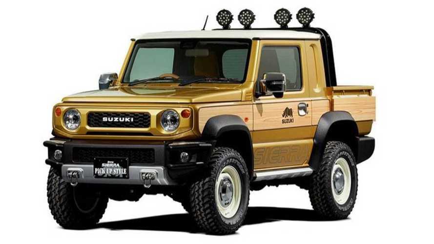 Suzuki Jimny Sierra terá inédita variante picape