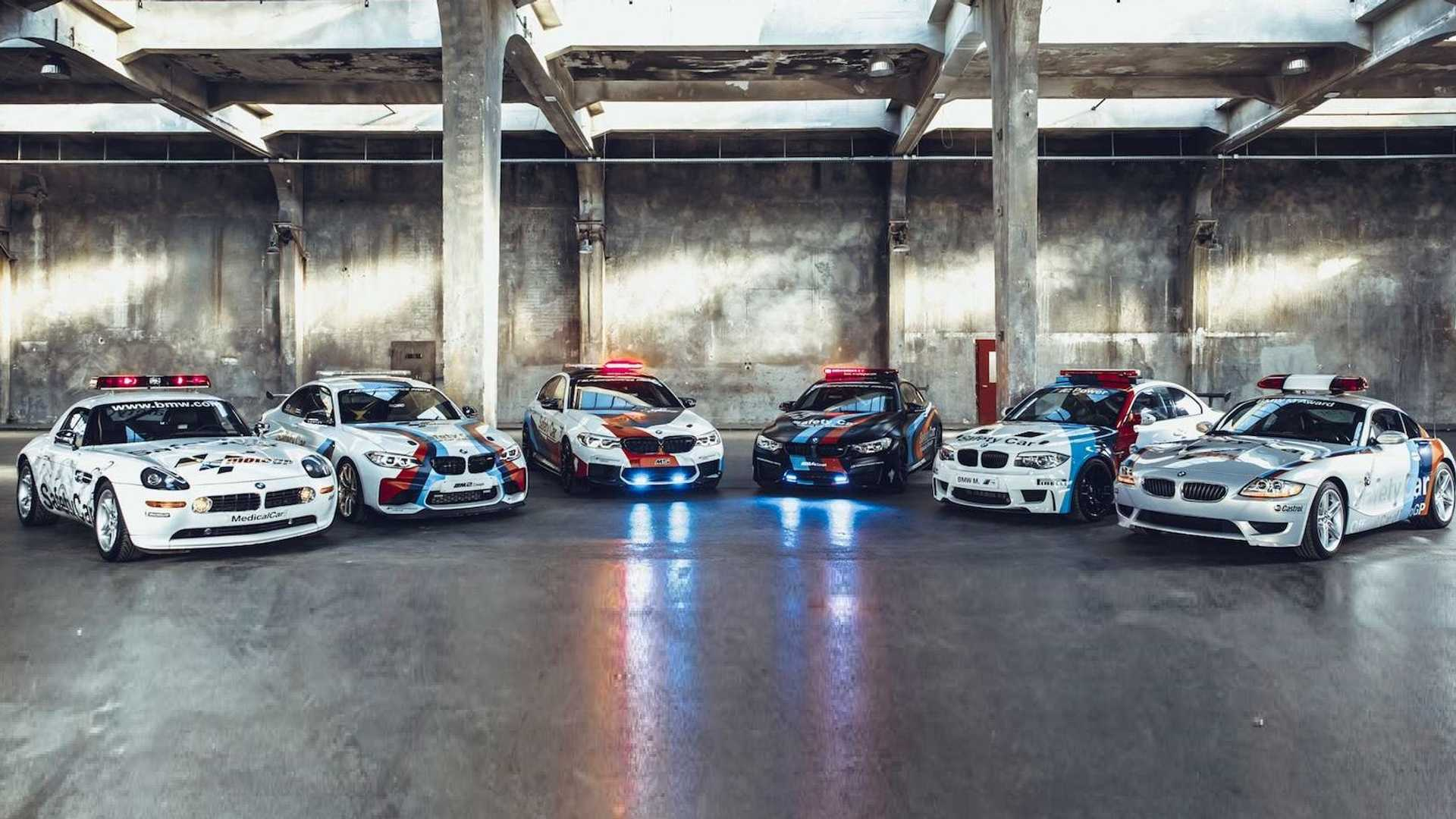Bmw Looks Back On 20 Years Of Motogp Safety Cars