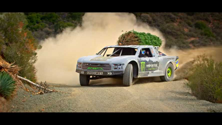 This 900-HP Race Truck Is The Perfect Christmas Tree Hauler