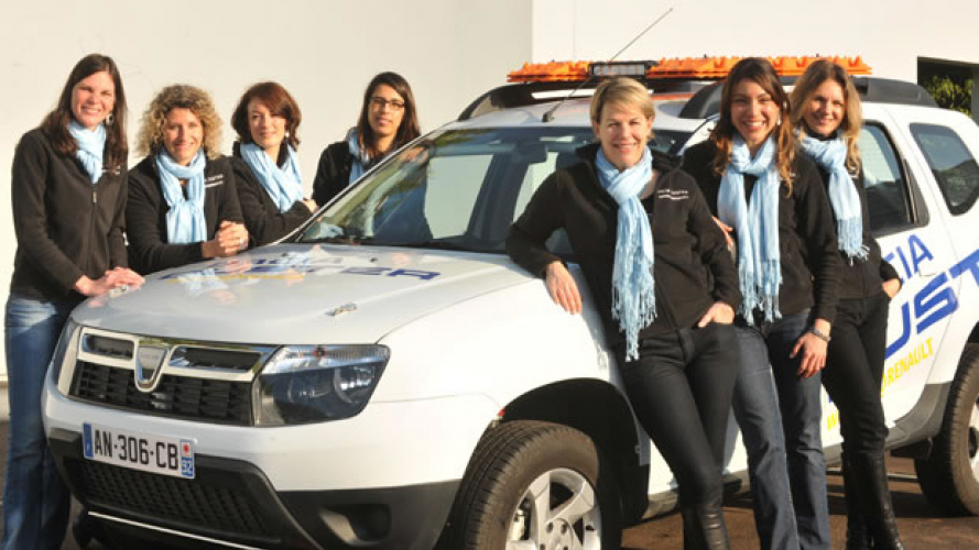 Duster al 21° Rally Aïcha des Gazelles