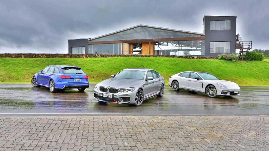 Track day: Novo BMW M5 encara Audi RS6 e Porsche Panamera na pista