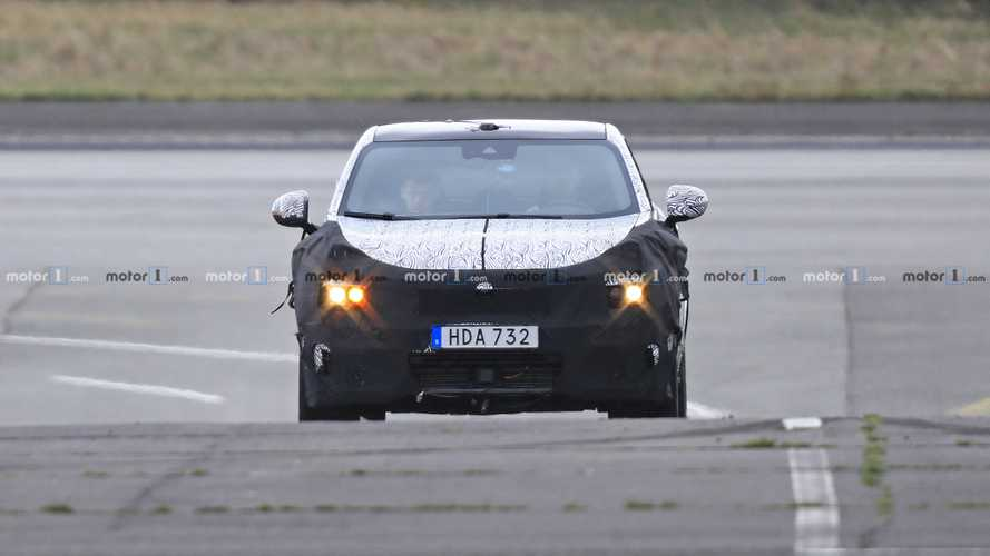 Lynk & Co Coupe Crossover Spy Photos