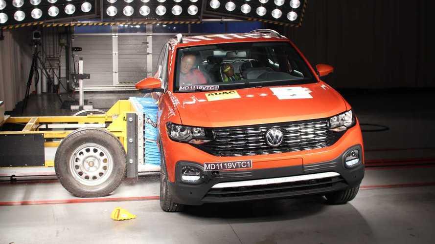 Latin NCAP: Volkswagen T-Cross e Toyota Yaris passam no teste de impacto