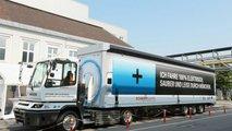 BMW e la logistica verde
