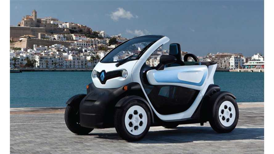 Rendered: LEAF, Twizy + Zoe Convertible