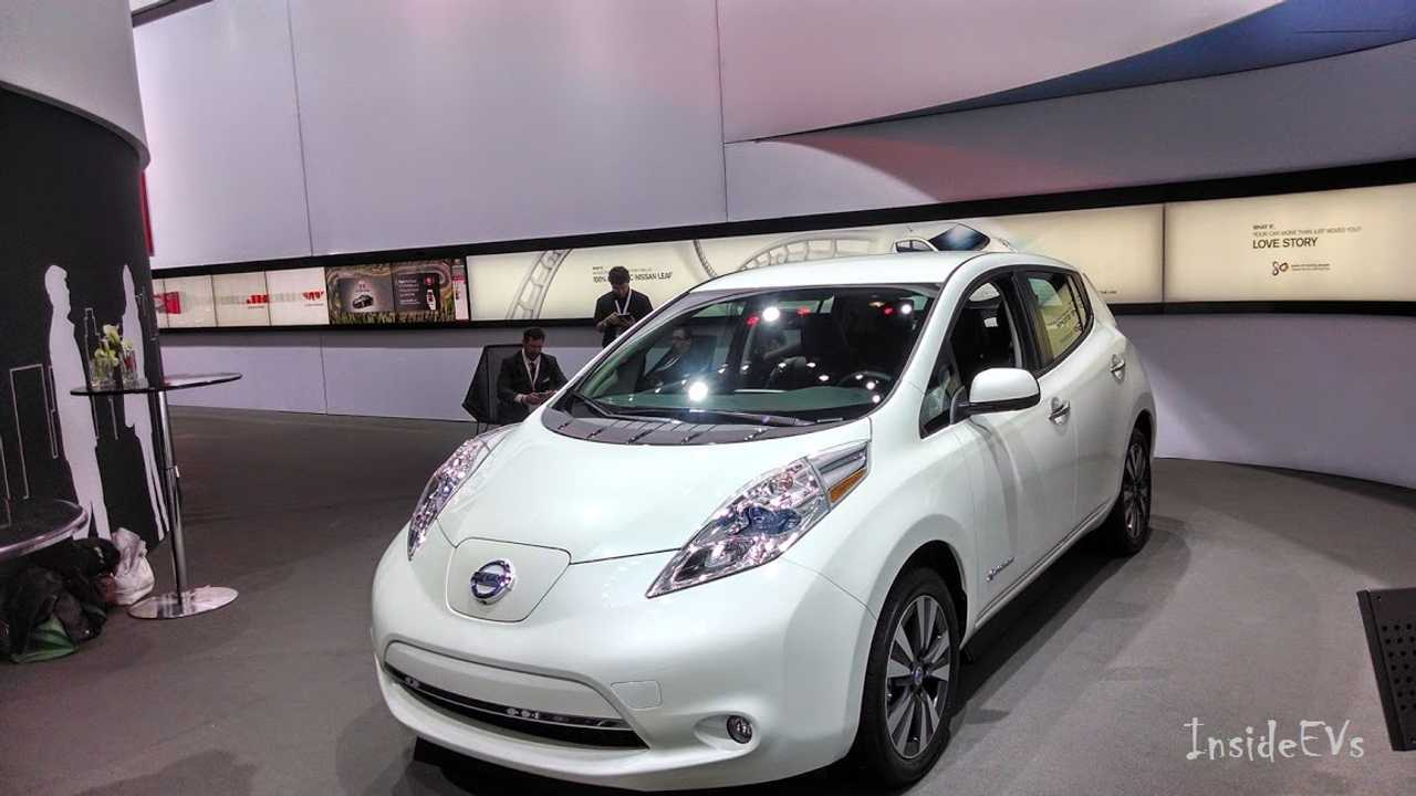 Nissan Leaf Makes An Earance In