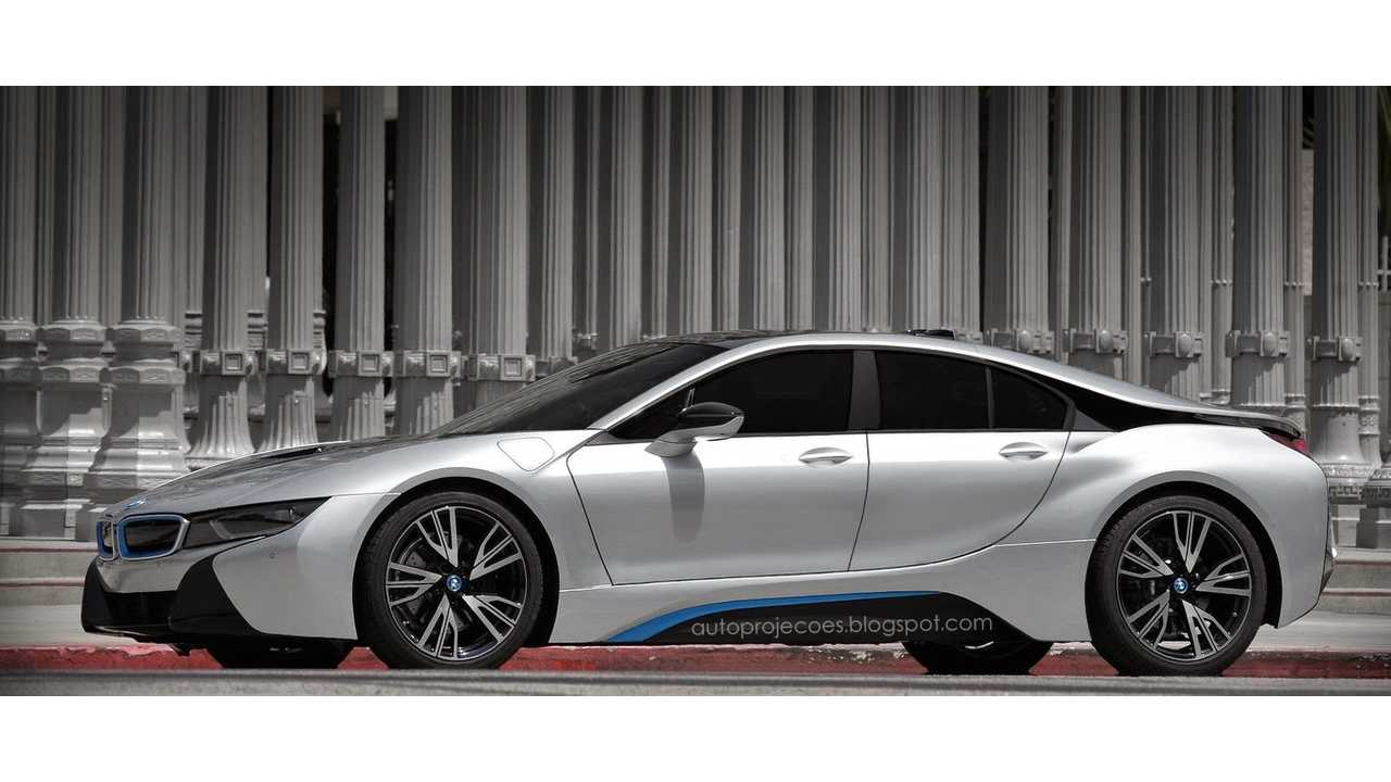 4-Door BMW i8 Gran Coupe Gets Rendered As Tesla Model S Competitor
