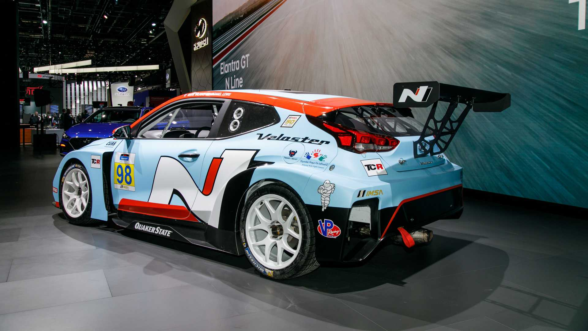 Hyundai Veloster N TCR Is Track-Ready In Detroit With 350 HP [UPDATE]