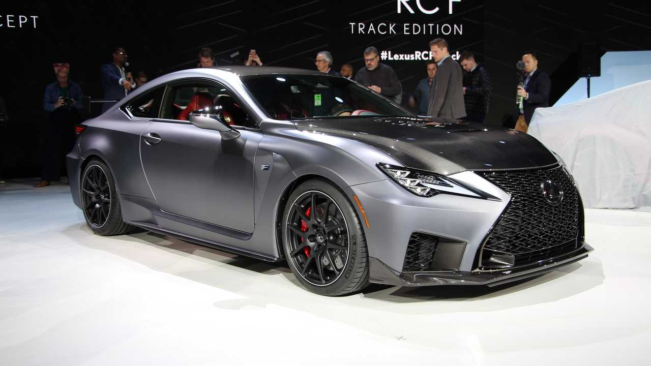 2020 lexus rc f track edition debuts in detroit  update