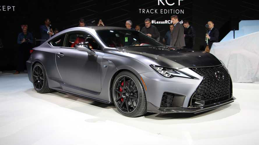 2020 Lexus RC F Track Edition Debuts In Detroit [UPDATE]