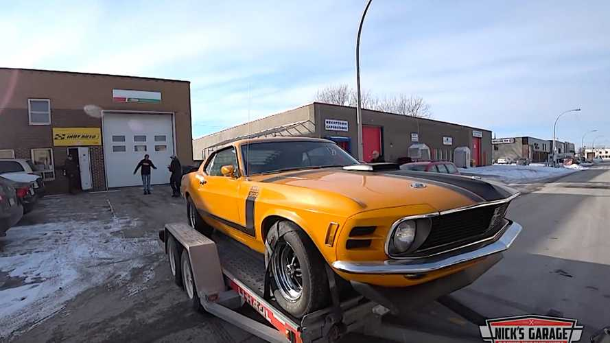 Mustang Boss 302 Freed After Decades Hidden In Storage