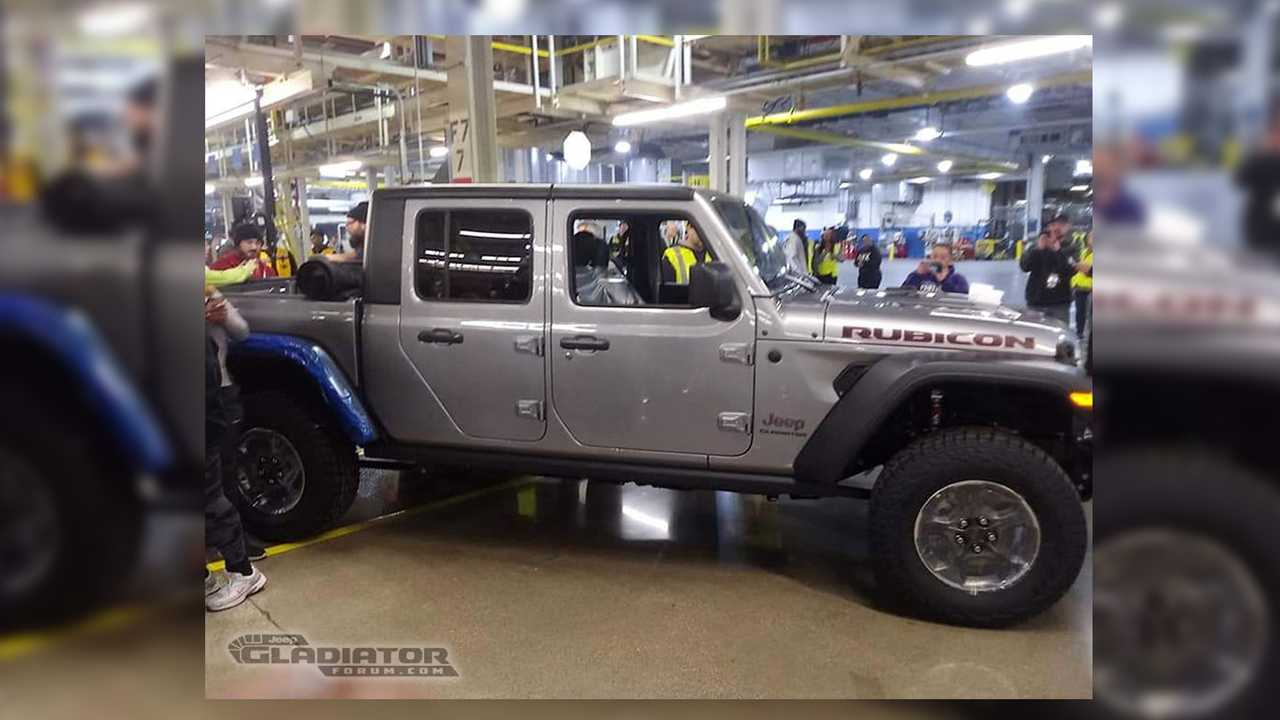 First Production Jeep Gladiator