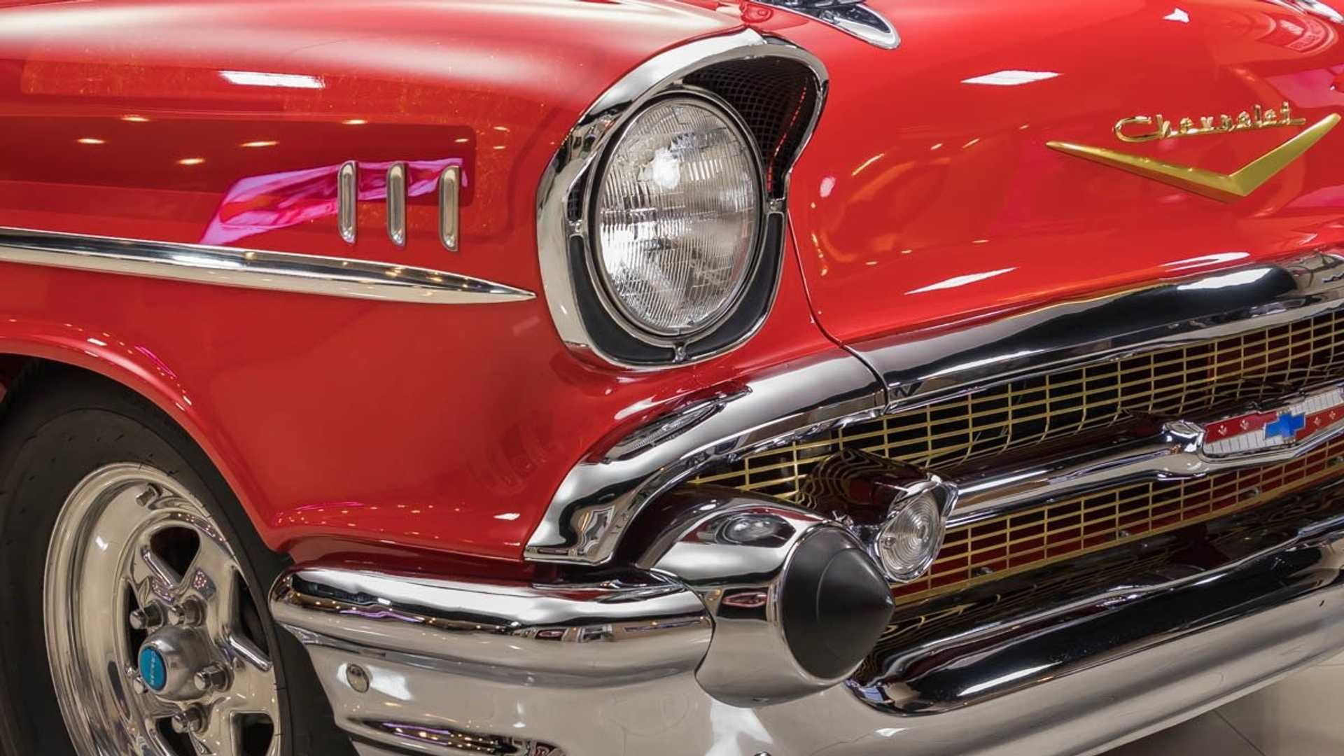 Could You Tame This 750 Horsepower '57 Chevy Belair?