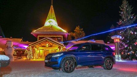 Fagyos kihívással szembesítették a Skoda Kodiaq RS-t