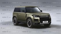 Render Land Rover Defender 2019