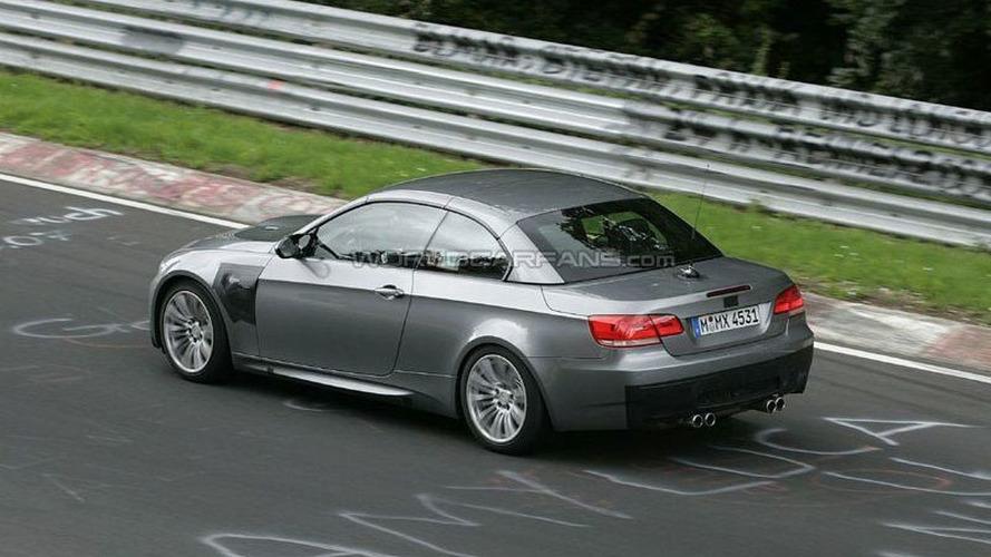 More BMW M3 Coupe Cabriolet Spy Photos