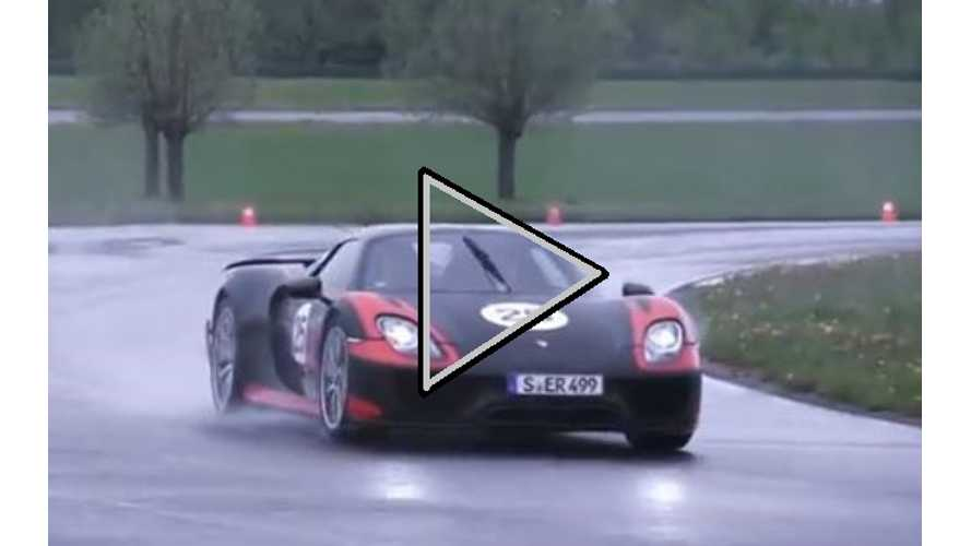 Video: Chris Harris Discusses and Then Drives the 887 Horsepower Porsche 918 Spyder Plug-In Hybrid