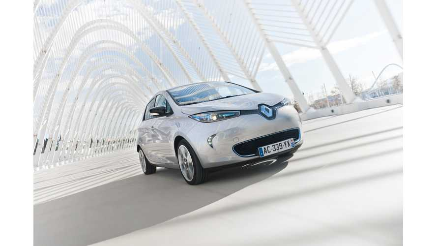 Electric Vehicle Sales in France Double in First Four Months of 2013; Fluence Z.E. Sales Equal Zero