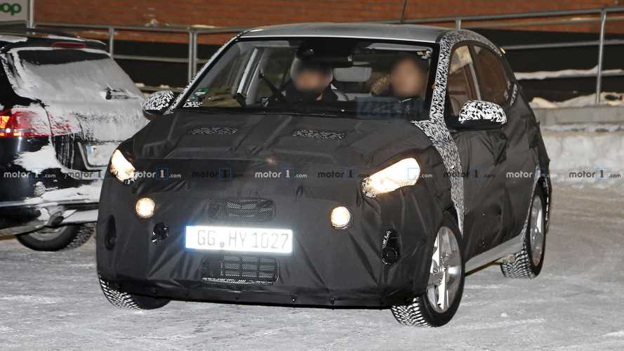 2020 Hyundai i10 spy photos