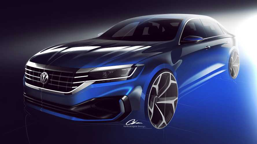 2020 VW Passat Teased For The First Time Before Early 2019 Debut