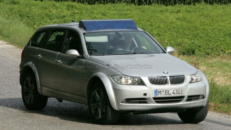 BMW X4 Test Mule Spy Photos