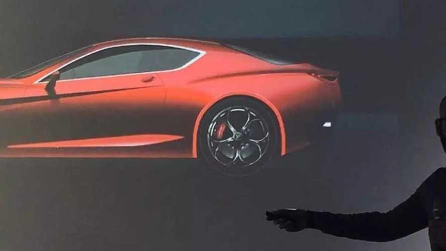 L'Alfa Romeo GTV en fuite ?