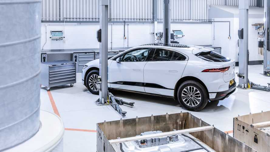 Jaguar Melts Pre-Production I-Paces To Make New Body Panels