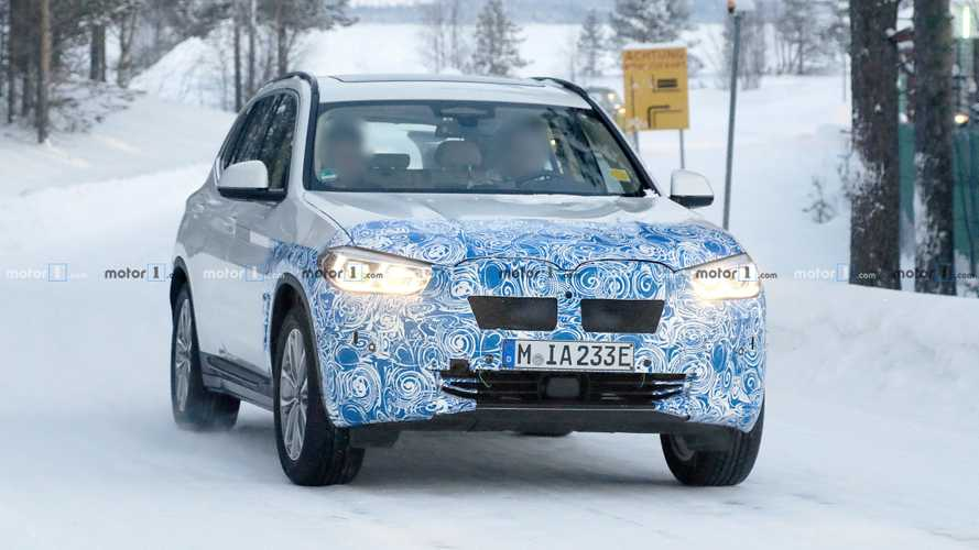 2020 BMW iX3 Spy Photos