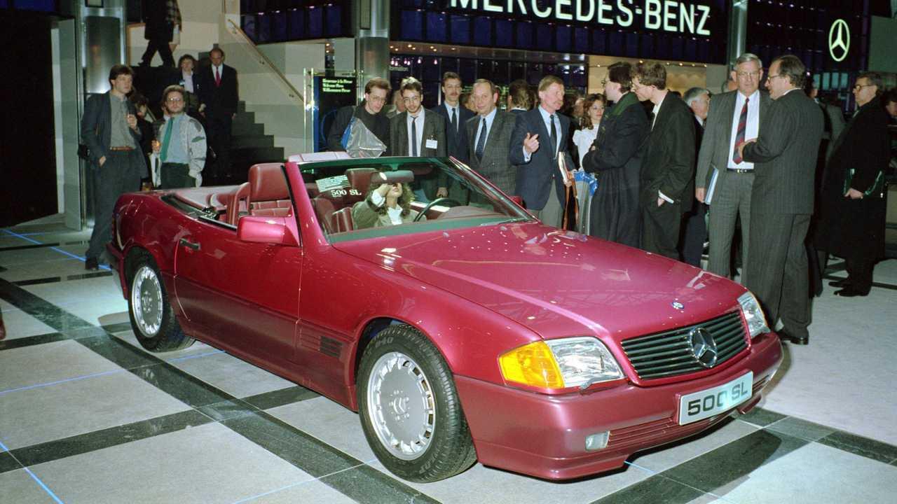 Mercedes SL (R 129) Geneva 1989