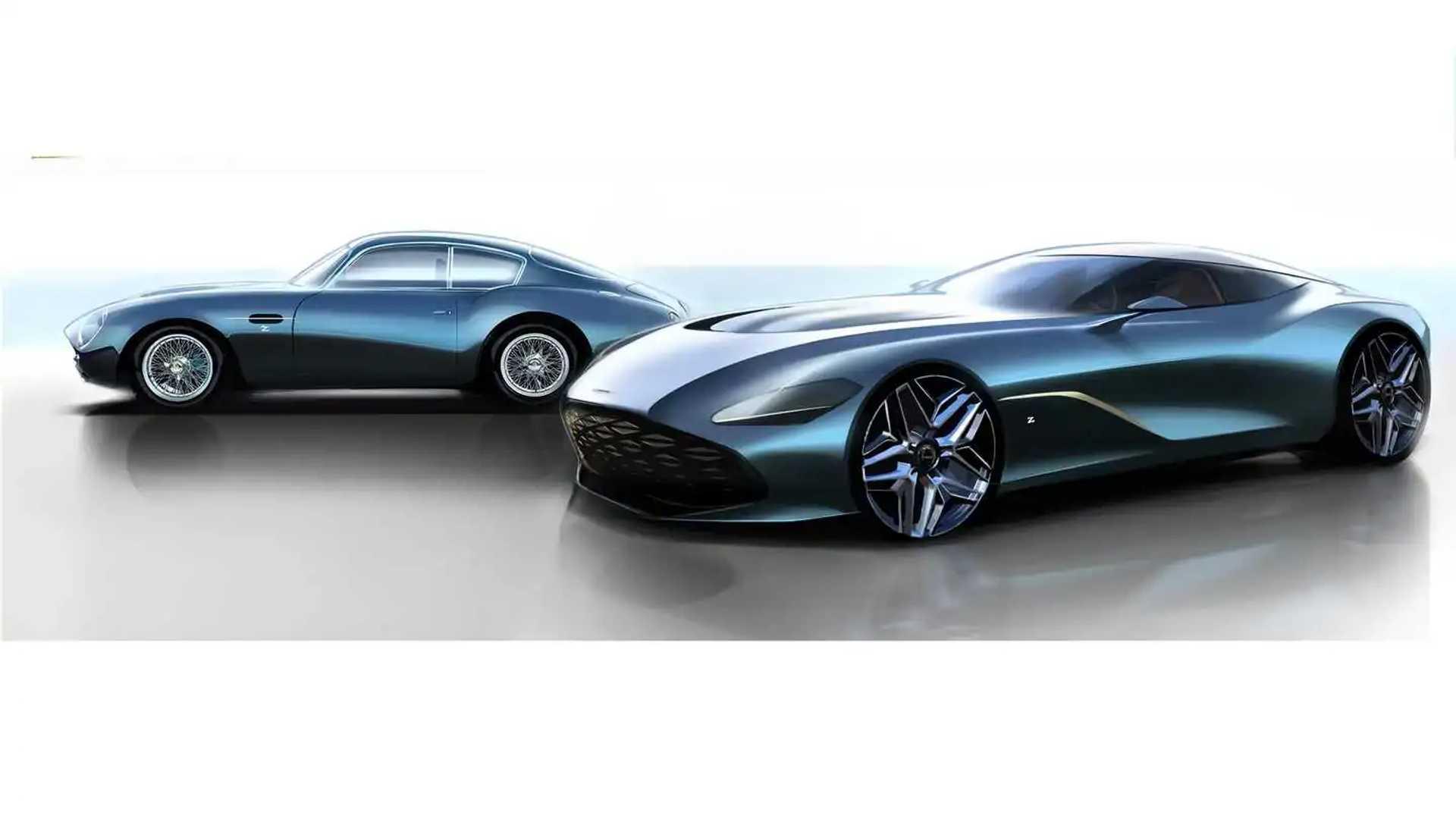 Aston Martin Dbs Gt Zagato Looks Stunning In New Sketches