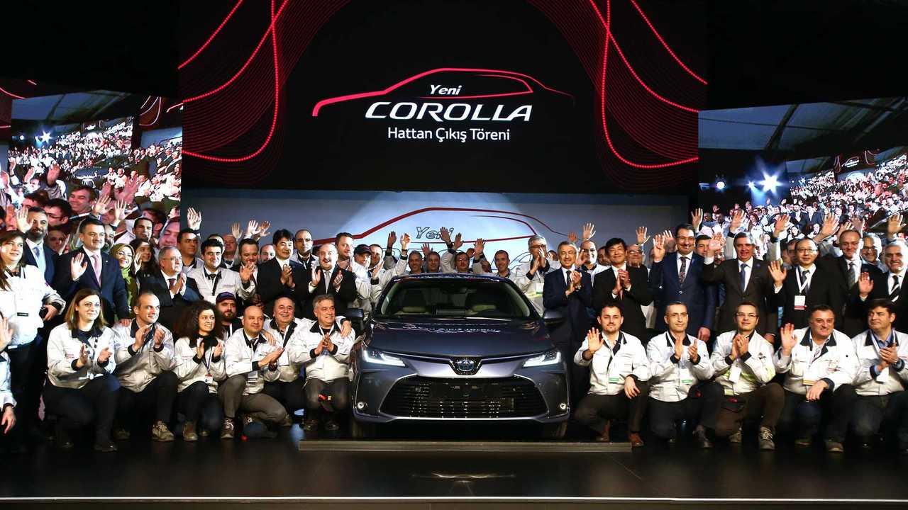 Toyota Corolla Sakarya Üretim Töreni