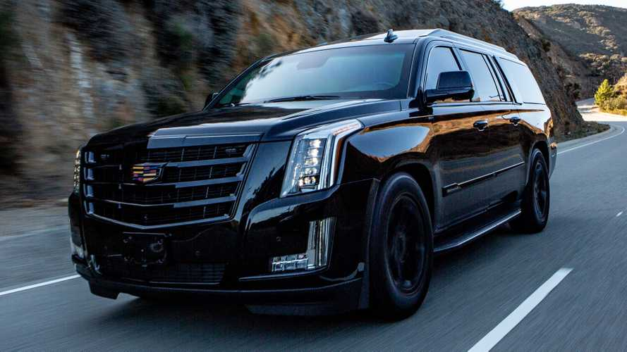 Bulletproof Escalade Is The Most Badass Security Vehicle Around