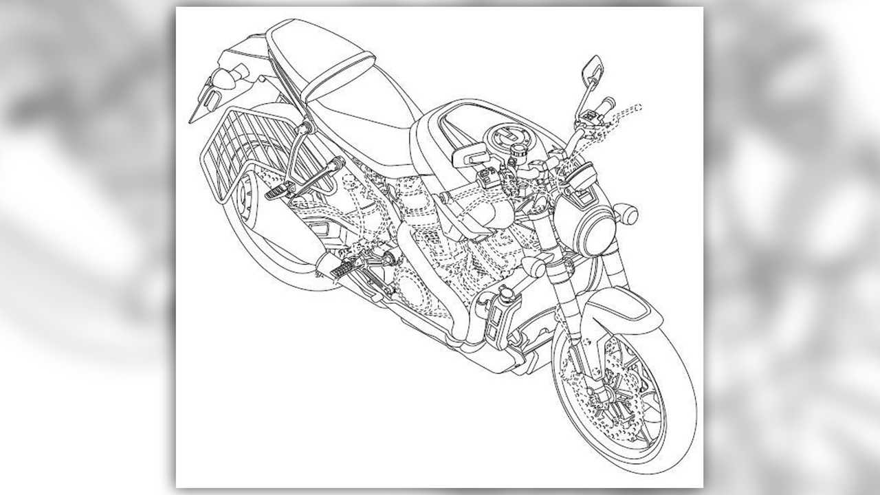 Harley-Davidson Streetfighter Design Filing up with these drawings? What do they show us? A surprising amount, actually. In all three sets, we see and evolution from the prototypes we saw in July to what are probably more production ready designs. There are small changes like cast wheels for the Pan America, different rear subframe mounting points on the Custom, a license plate assembly on the Streetfighter and big changes like new bodywork on all three. </p> <p> One <em> very </em> interesting addition to both Streetfighter and Pan America is what looks like saree guards under the bikes' pillion seats. A saree guard is just what it says on the tin, a barrier to prevent the flowing sarees from women in India from getting caught up in a bike's rear tire and final drive chain. That addition suggests that these bikes will be sold in India which, honestly, is a really smart move for the Motor Company. </p> <section contenteditable=