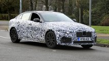2020 Jaguar XE facelift spy photo