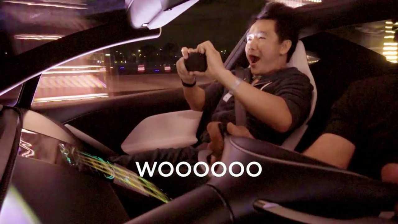 Tesla Roadster Reaction
