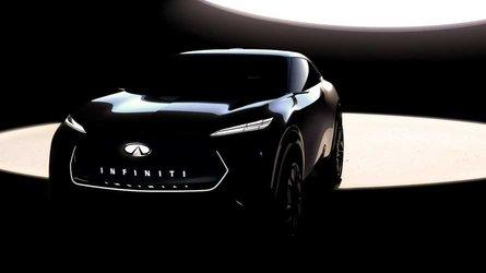 Infiniti, a Detroit un concept di crossover elettrico
