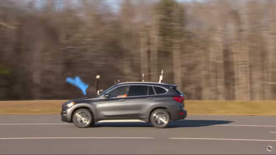 BMW X1 scores epic fail in new IIHS pedestrian crash test