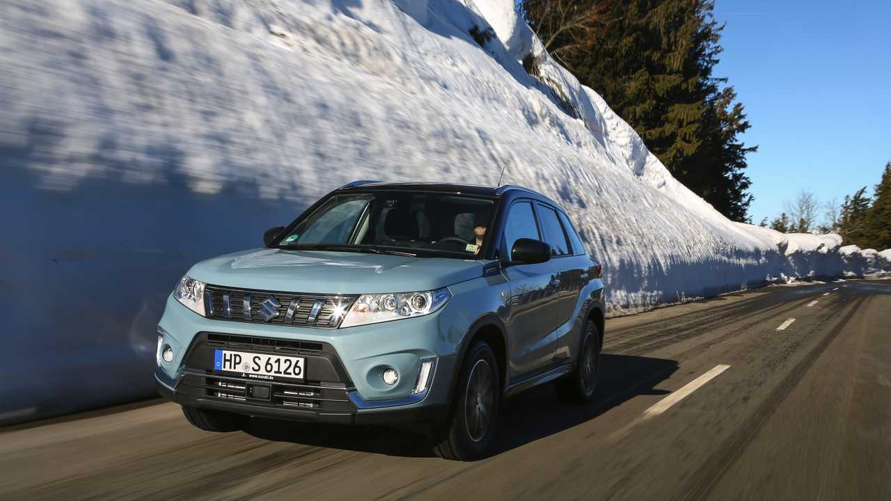 Suzuki Vitara Facelift 2019 Test