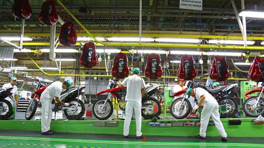 Produção de motos em 2021 é a melhor dos últimos 6 anos