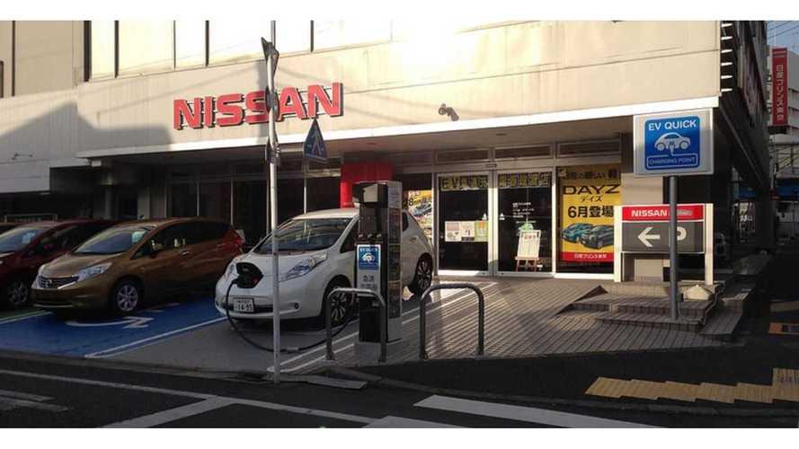 2013 Nissan LEAF Hits A Sales Stumbling Block In Japan