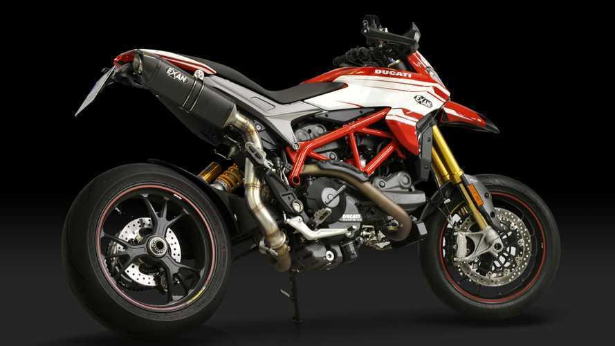 Exan, nuovi scarichi per Ducati Hypermotard 939 e Hyperstrada 939